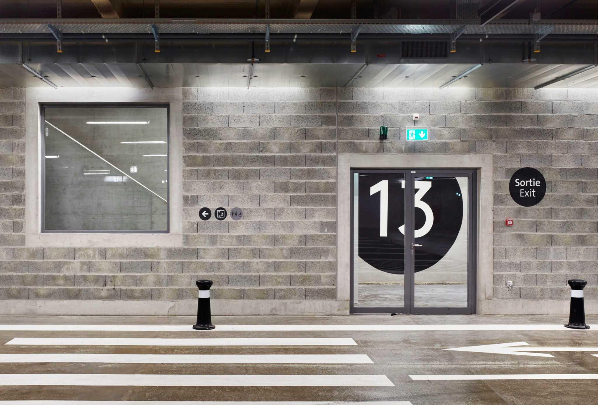 GVA parking halle 7 bunq