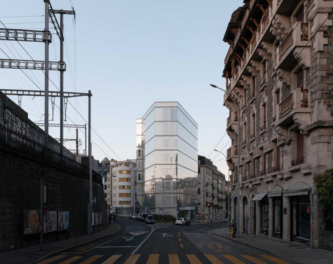 Surélévation du bâtiment de la FER  de Planta et Associés Architectes
