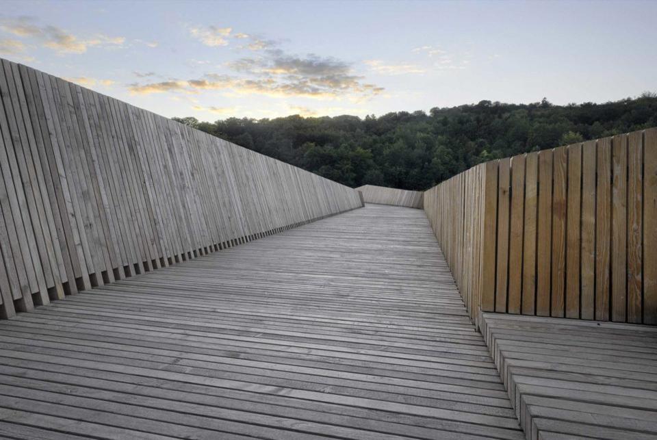 Passerelle de la Sallaz 2b architectes