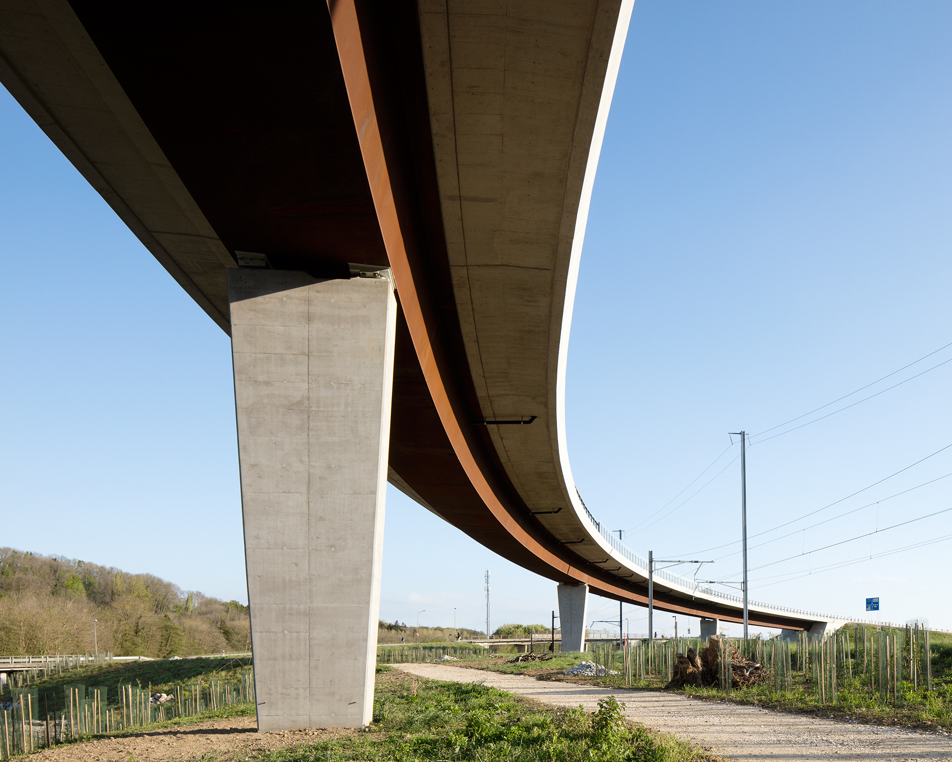 Viaduc sur la VenogeBrauen Wälchli Architectes